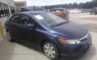 2008 HONDA CIVIC LX #1287189405