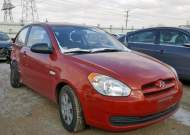 2008 HYUNDAI ACCENT GS #1293214655