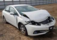 2013 HONDA CIVIC HYBR #1329314345