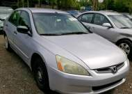 2005 HONDA ACCORD DX #1364374668