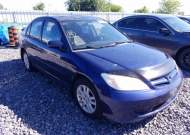 2005 HONDA CIVIC LX #1561554692