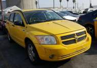2007 DODGE CALIBER SX #1584592998