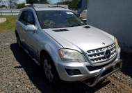 2009 MERCEDES-BENZ ML 350 #1604173972
