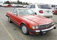1987 MERCEDES-BENZ 560 SL #1635628390