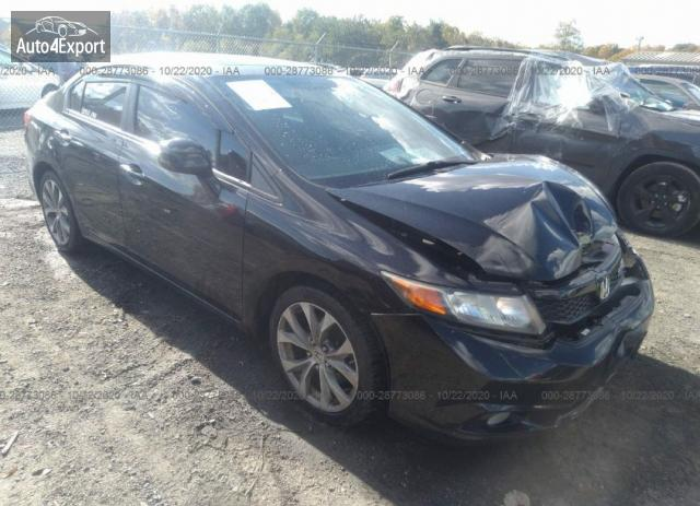 2012 HONDA CIVIC SDN SI #1636458912