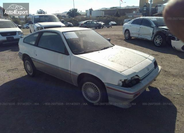 1984 HONDA CIVIC 1300 CRX #1645191405