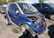 2009 SMART FORTWO PUR #1663014495