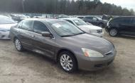 2007 HONDA ACCORD SDN EX-L #1677175415