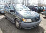 2001 TOYOTA SIENNA LE #1681769665