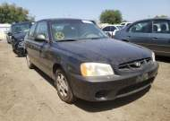 2002 HYUNDAI ACCENT GS #1684822298