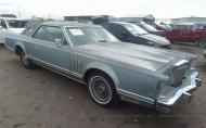 1979 LINCOLN TOWNHOUSE CONTINENTAL #1698051108