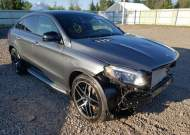 2019 MERCEDES-BENZ GLE COUPE #1757678175